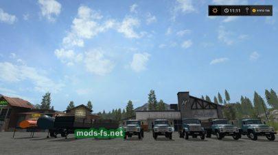 Мод пак ЗИЛ для Farming Simulator 2017