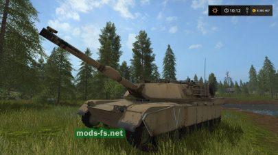 Мод танка M1A1 ABRAMS для FS 17