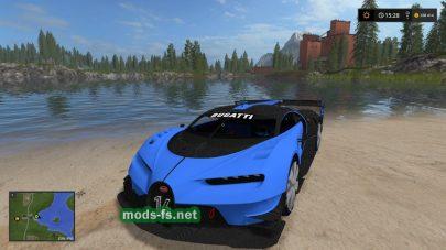 Bugatti Vision для FS 2017