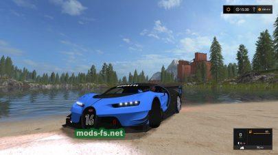 Bugatti Vision mods