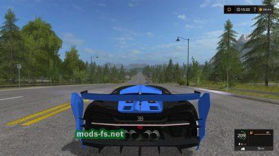 Мод Bugatti Vision Gran Turismo