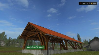 Wood Barn mods