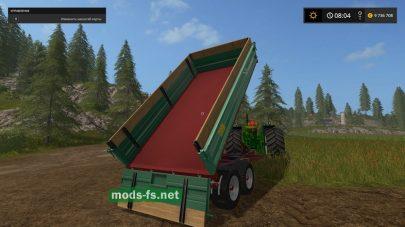 Мод прицепа-самосвала Farmtech TDK 900