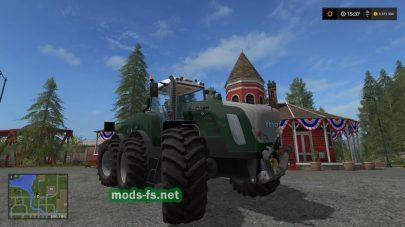 Мод трактора Fendt Trisix