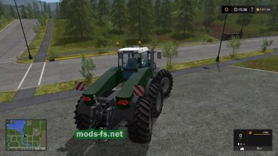 Fendt Trisix для Farming Simulator 2017