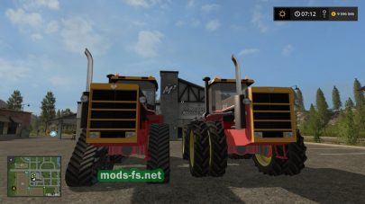 Пак тракторов Ford Versatile 846