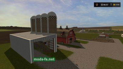 Карта Америки для Farming Simulator 2017