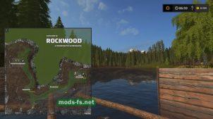 Схема карты RockWood