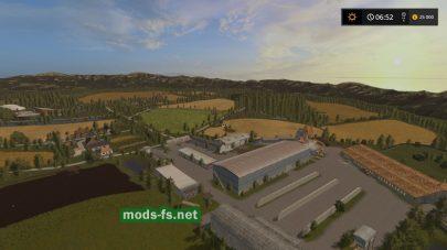 Ферма на карте Словакия
