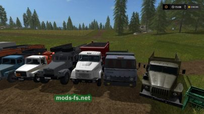 Пак техники для Farming Simulator 2017
