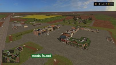 Карта Техаса в игре Farming Simulator 2017