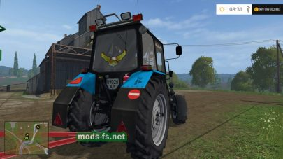 Колхозный трактор MTZ 82 для Farming Simulator 2015