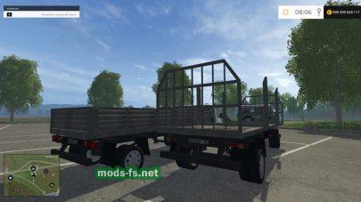 Газель для игры Farming Simulator 2015