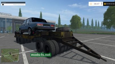Платформа для перевозки техники в Farming Simulator 2015