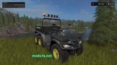 QUAD POLARIS 6X6 mods