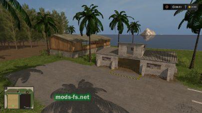 Мод карты Lost Islands