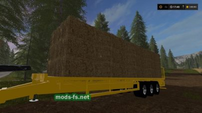 Мод New Holland Power Baller для FS 17