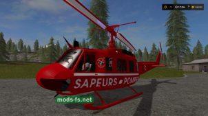 Bell UH1D Sapeurs Pompiers