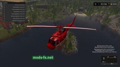 Bell UH1D FS 17