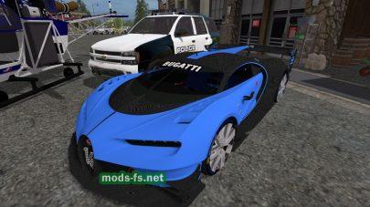 Пак полицейских автомобилей для FS 2017