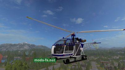 Вертолет из Police Pack