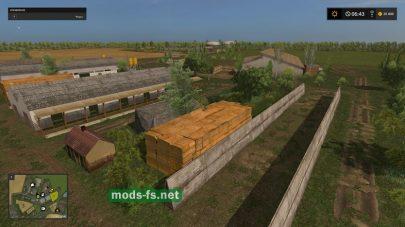 Ферма на карте FSH Modding Map