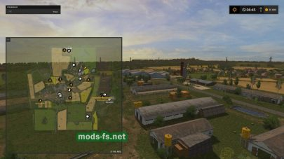 Схема карты FSH Modding Map