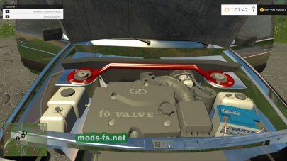 Мод на авто Lada 2115