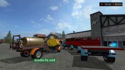 Мод из двух грузовиков ГАЗ 53