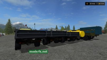 Мод на грузовики ГАЗ для Farming Simulator 2017