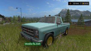 Мод пикапа GMC Pickup