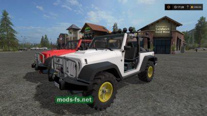Мод на Jeep Wrangler