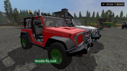 Jeep Wrangler для игры FS 2017