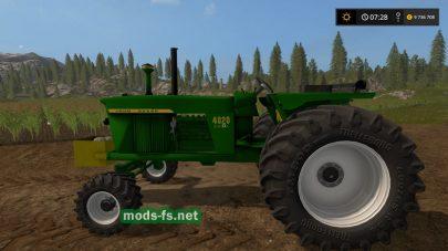 Мод трактора John Deere 4020