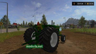 Трактор John Deere без кабины для FS 17