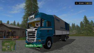 Мод тягача Scania R730