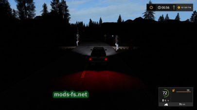 Темнота в Farming Simulator 2017