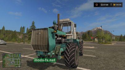 Мод на трактор Т-150к