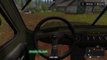 Мод УАЗ-469 для FS 17