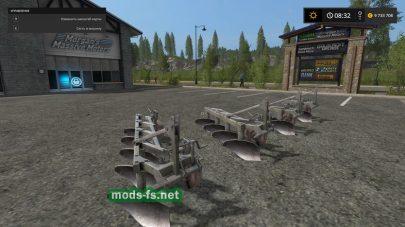 Unia Ploughs mods