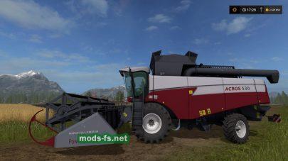 Акрос 530 для Farming Simulator 2017