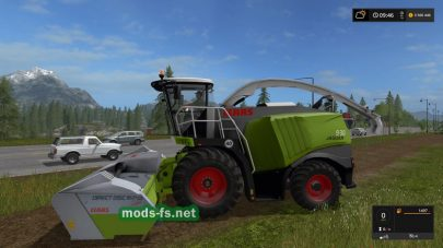 Мод CLAAS JAGUAR 900 SERIES TYPE 497