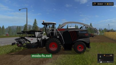 CLAAS JAGUAR 900 mods