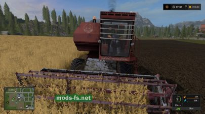 Енисей 1200 для Farming Simulator 2017