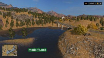 Карта Америки Farming Simulator 2017