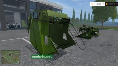 Енисей 1200 1M для Farming Simulator 2015