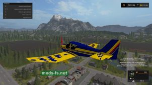Мод самолета ROBIN DR400 VOLTIGE