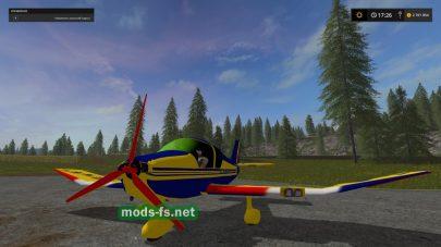 Самолет для Farming Simulator 2017