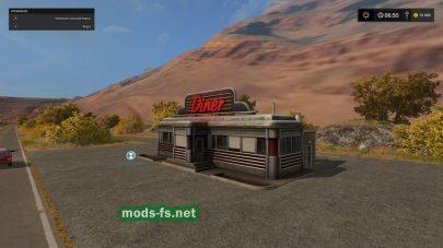 Американское ранчо для FS 17