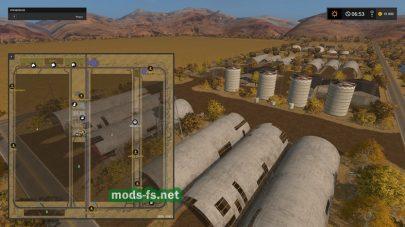 Схема карты Mustang Valley Ranch